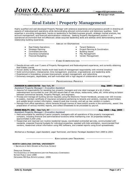 Real Estate Sample Resume – Real estate sales agent resume