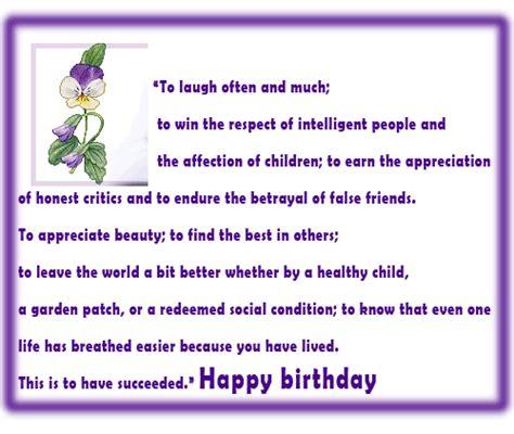 Birthday Card With Pansy Free Happy Birthday Ecards