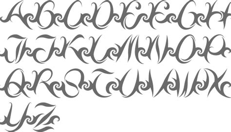 myfonts tribal typefaces
