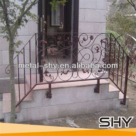 Wrought Iron Handrail Lowes outdoor wrought iron stair railing lowes wrought iron