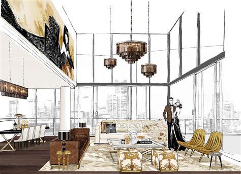 Layout Artist Jobs Melbourne   illustrator megan hess designs penthouse in first