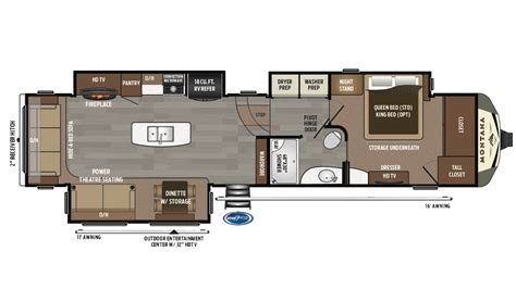 montana fifth wheel floor plans 2018 montana 3720rl 5th wheel new and used travel trailers