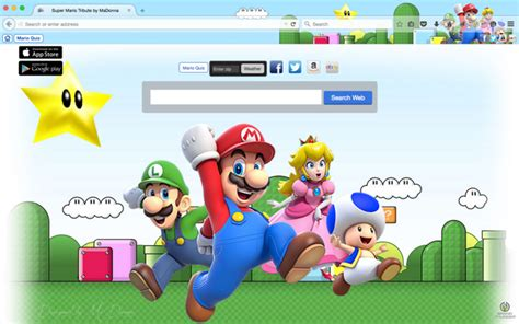 Grab A Mario Bros Theme For Your Firefox Browser 15 mario bros chrome themes firefox themes for