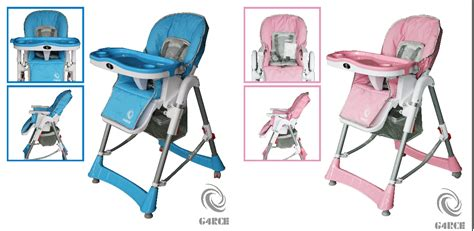 Infant Recliner Seat by G4rce Foldable 3 In 1 Baby Toddler Infant Highchair