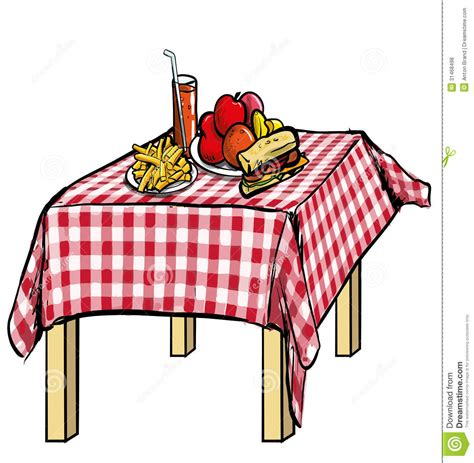 food on the table food table clipart clipart suggest