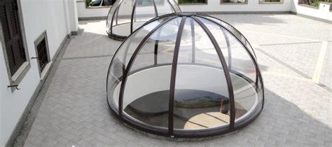 cupole in plexiglass co in pensiline lucernari tunnel verande cupole