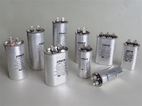 capacitor used in air conditioner cbb60 capacitor cinco capacitor china ac capacitors factory