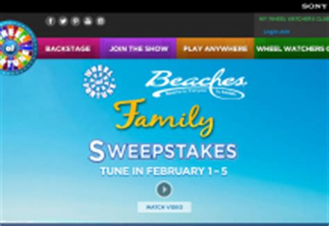 Wheeloffortune Com Disney Sweepstakes - wheeloffortune carnival spin sail sweepstakes tv
