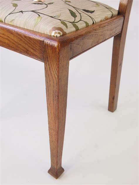 oak armchair set 4 oak dining chairs antiques atlas
