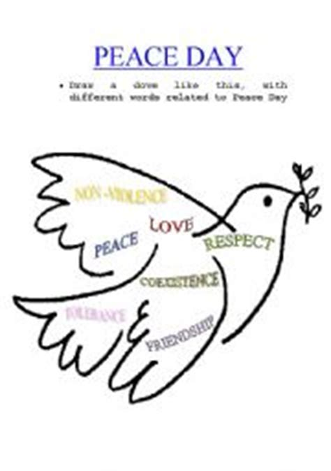 Peace Day Worksheets worksheet peace day