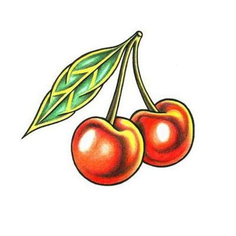cherries tattoo designs traditional cherry design ideas 2016 and