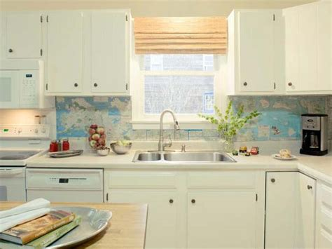backsplash ideas for kitchens inexpensive 24 cheap diy kitchen backsplash ideas and tutorials you should see