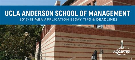 Ucla Tuition Mba by Accepted Admissions