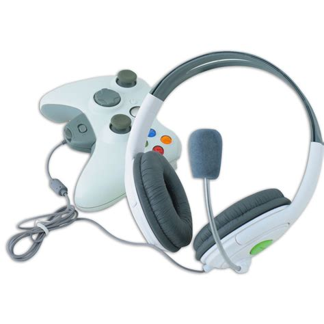 how to use 360 new live headset headphone with microphone for xbox 360 ebay