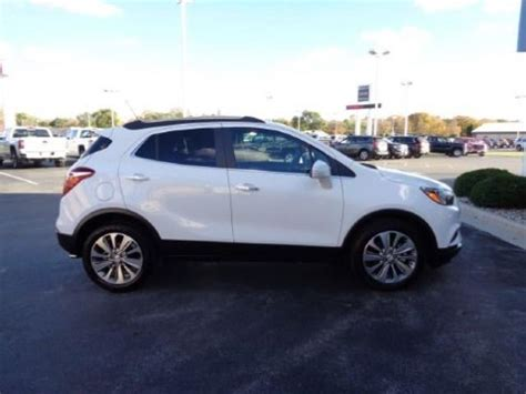 buick encore 2017 white 2017 buick encore fwd 4dr preferred ii for sale appleton