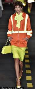 10 Ways To Become Runway Ready 7 Days by Moschino Unveil Tradesman Inpsired Hi Vis Chic At Their
