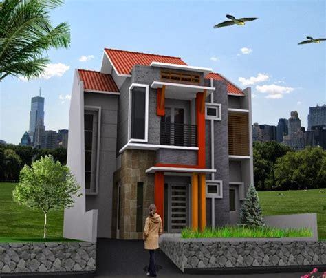 desain eksterior rumah 2 lantai desain rumah minimalis 2 lantai rumah diy