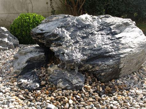 garten mit quellstein gestalten landschafts und gartengestaltung minge gmbh quellsteine