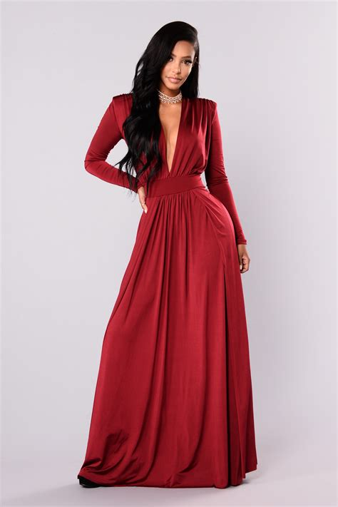 Dress Fashion To spree dress burgundy