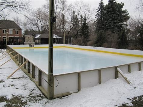 backyard ice rink ideas backyard ice rink paint outdoor furniture design and ideas