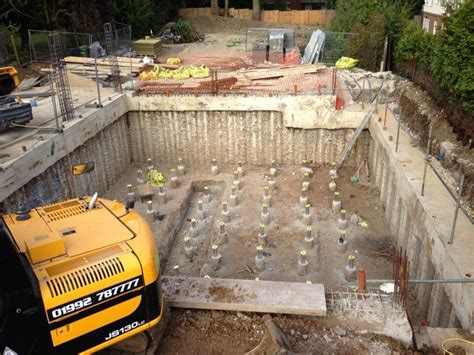 basement excavation specialist groundworks sb