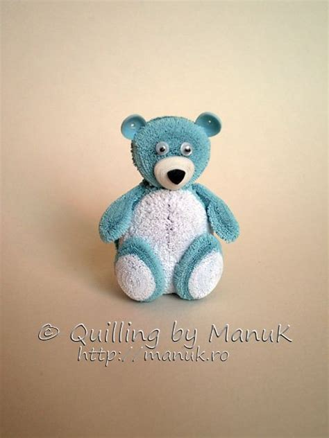 quilling animals tutorial quilled teddy bear ii by manuk quilling dimensional