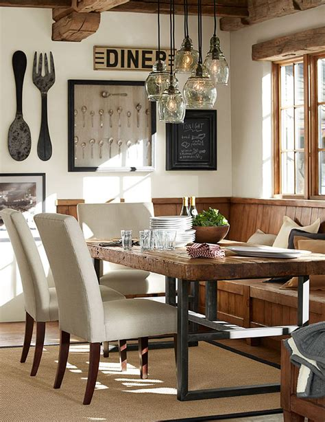 10 rustic dining room ideas
