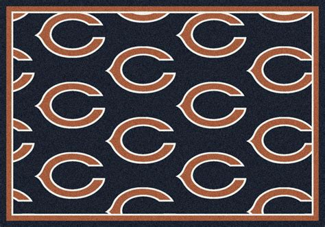 chicago bears rugs milliken area rugs nfl repeat rugs 01017 chicago bears milliken area rugs nfl team rugs