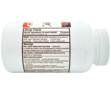 chlorpheniramine for dogs chlorpheniramine 4mg 1000 tablets