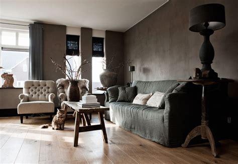 dutch contemporary 171 interior design files refined palette of grays in dutch house by designer ineke
