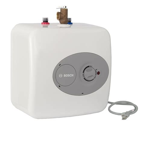 sink electric water heater bosch t 2 7 gallon electric mini tank sink water