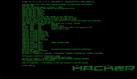 nmap advanced tutorial nmap scanning basics w debian linux pt 1 blacks in