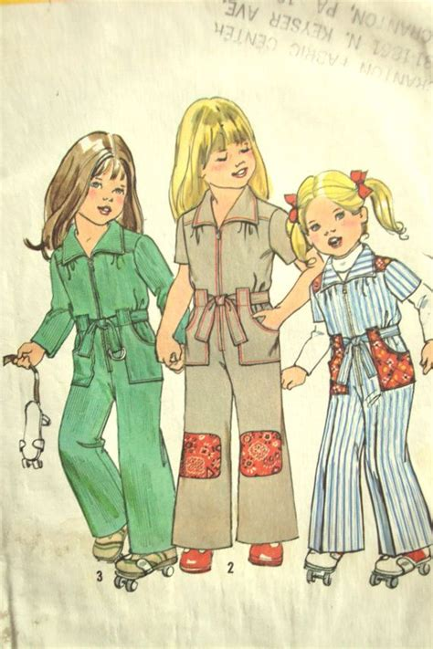 jumpsuit pattern child 70s jumpsuit pattern child s size 5 my mom mom and
