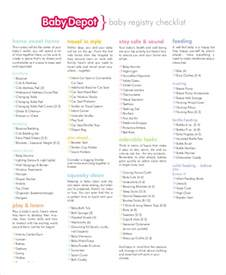 baby registry checklist 8 free word pdf psd documents