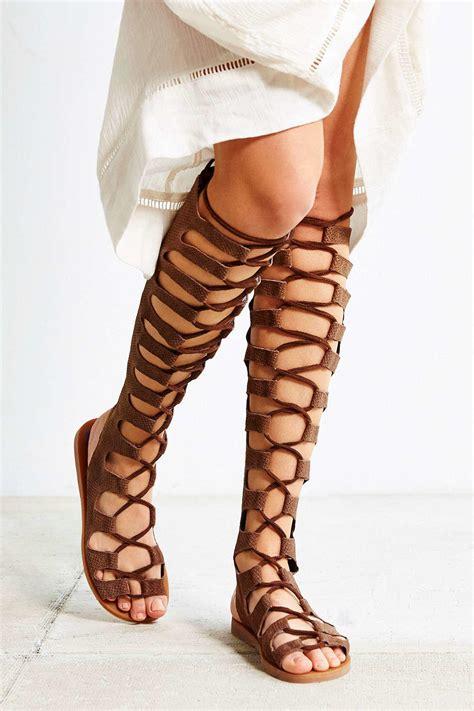 jeffrey cbell gladiator sandals jeffrey cbell knee high gladiator sandals 28 images
