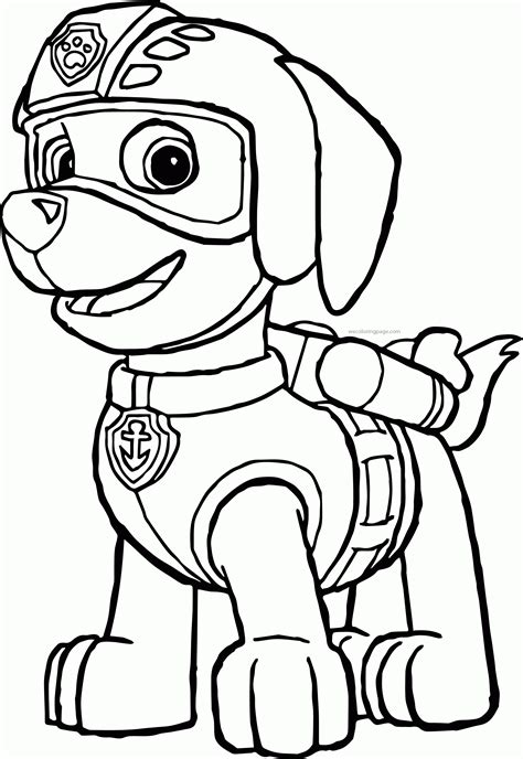 coloring pages of chase from paw patrol paw patrol chase coloring page az coloring pages