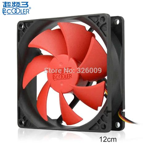 Pccooler F95 pccooler fan 12mm fan can be remove wash cooling for