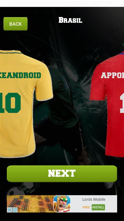 desain jersey android 4 aplikasi desain kaos bola di android yang harus dicoba