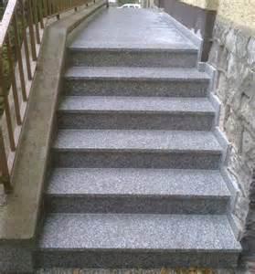 treppen aus granit au 223 entreppen aus granit oder waschbeton