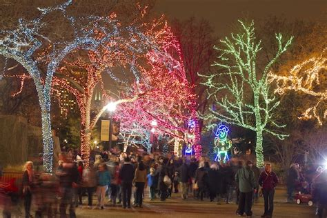 Let It Glow Best Holiday Lights From Coast To Coast What Time Does Zoo Lights