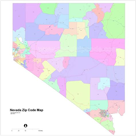 Nv Search Nevada Zip Code Map Adriftskateshop