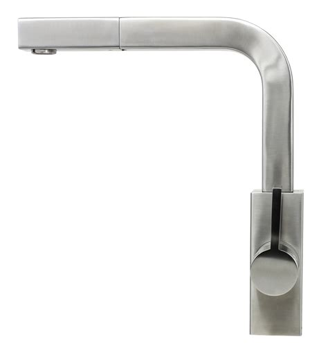 Kitchen Faucet Nozzle by Ariel Carmela Stainless Steel Lead Free Single Handle Pull