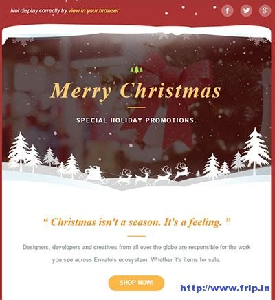 christmas themes outlook email 20 best christmas new year email templates 2017 frip in