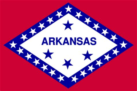 Arkansas The 25th State by Arkansas Flag And Description And Arkansas Seal