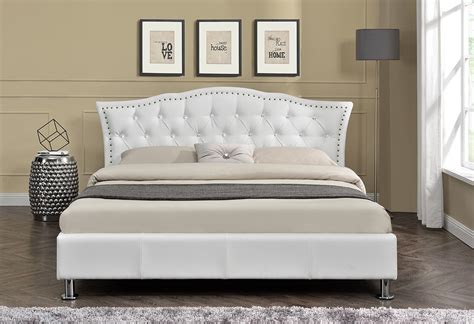 Diamante Headboard by Designer Diamante Headboard Bed Fabric Or Faux Leather