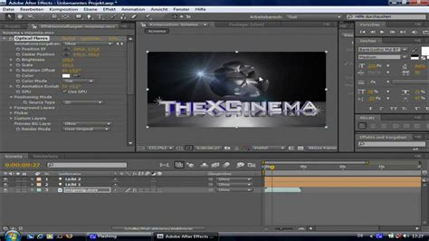 after effects cs4 tutorial adobe after effects cs4 optical flares track lights