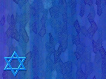 star of david 03 powerpoint templates