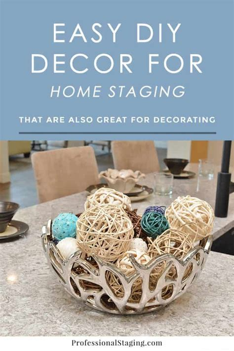easy to make home decor easy diy d 233 cor for home staging or decorating