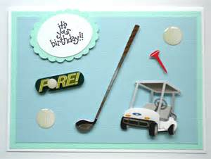 golf birthday greeting card golfing golf by customcardsbybonnie