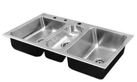 teqm 2243 a gr r stainless steel sinks and faucets by just